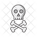 Danger Skull Warning Icon