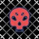 Skull Creepy Mummy Icon