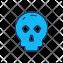 Skull Halloween Clown Icon