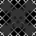 Bones Danger Death Icon