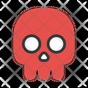 Skull Skeleton Head Icon
