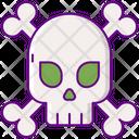 Skull Horror Zombie Icon