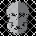 Skull Medical Tool Icon