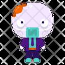 Zombie Halloween Costume Icon