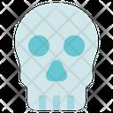 Organ Anatomy Skull Skeleton Icon