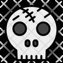 Skull Spooky Terror Icon
