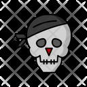 Skull Halloween Scary Icon