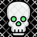 Skull Skeleton Halloween Icon