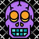 Head Death Halloween Icon