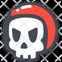 Helmet Skull Racer Icon