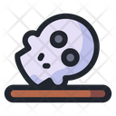Skull Climate Change Global Warming Icon