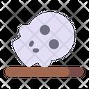 Skull Skeleton Climate Change Icon