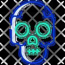 Skull Skeleton Danger Icon