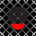 Skull Clown Scary Icon