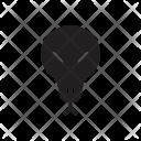 Skull Clown Creepy Icon