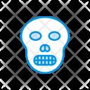 Skull Spooky Scary Icon