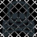 Skull Attention Death Icon