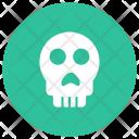 Skull Creepy Scary Icon