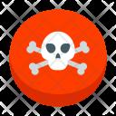 Skull Crossbones Icon