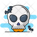 Skull Crossbones Danger Icon