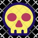 Skull Skeleton Poison Icon