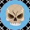 Skull Halloween Head Icon