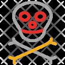 Skull Danger Death Icon