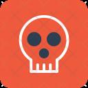 Skull Danger Skeleton Icon