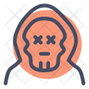 Skull Witch Monster Icon