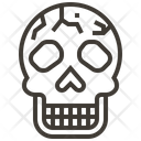 Skull Healthcare Medical Icon