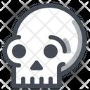 Skull Danger Bone Icon