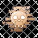 Skull Head Spooky Icon