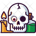 Skull Hallooween Poison Icon