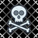 Skull And Bones Danger Bones Icon