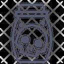 Skull bottle Icon