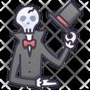 Iskull Gentleman Skull Gentleman Gentleman Ghost Icon