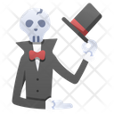 Skull Gentleman Icon