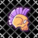 Color Icon Skull Icon