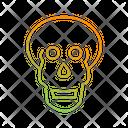 Skull X Ray Icon