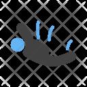 Sky Diver Person Icon