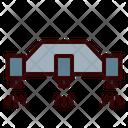 Sky Crane Robot Landing Icon