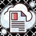 Sky Docs Digital Storage Online Docs Icon