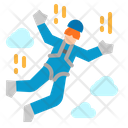 Skydiving Sport Competition Icon