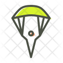 Skydiving Parachute Paragliding Icon