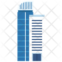 Skyline Flats Building Icon