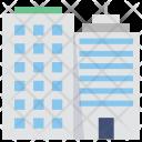 Skyscraper Flats Building Icon