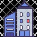 Building Urban Construction Icon