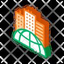 Building City Earth Icon