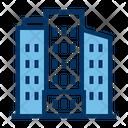 City Skyscraper Buildings Icon