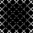 Akyscraper Apertments Building Icon